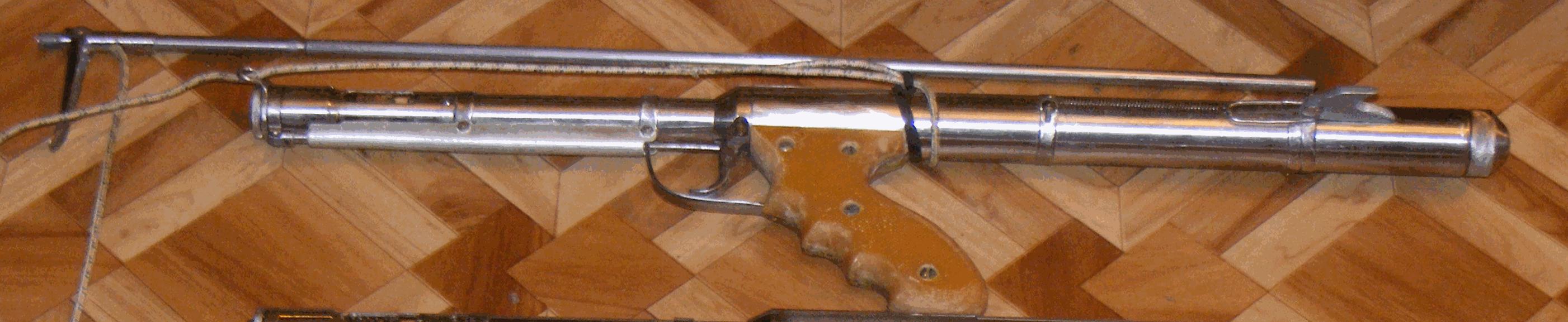 Самодельное подводное пневматическое ружье своими руками